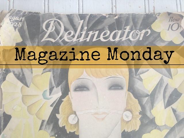 Magazine Monday 1928 Delineator Banner