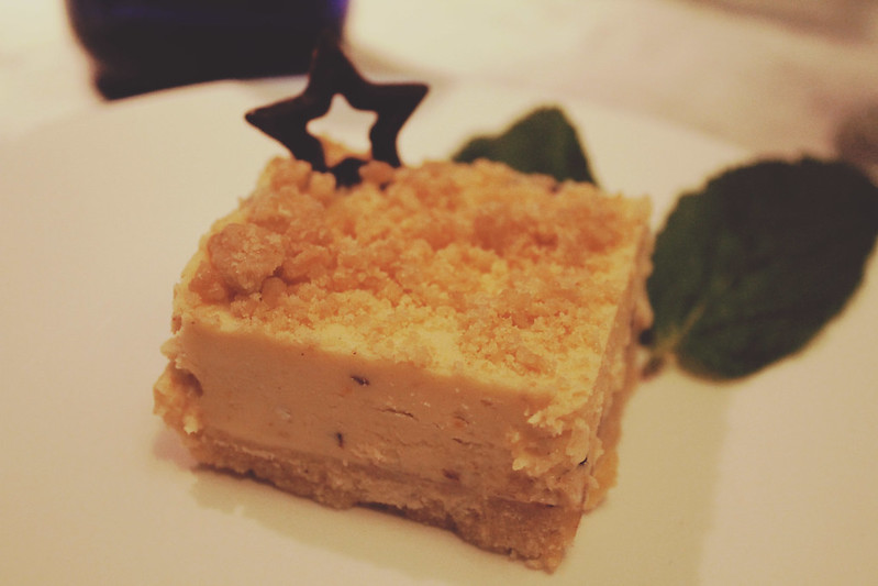 Pizza Express mince pie cheesecake