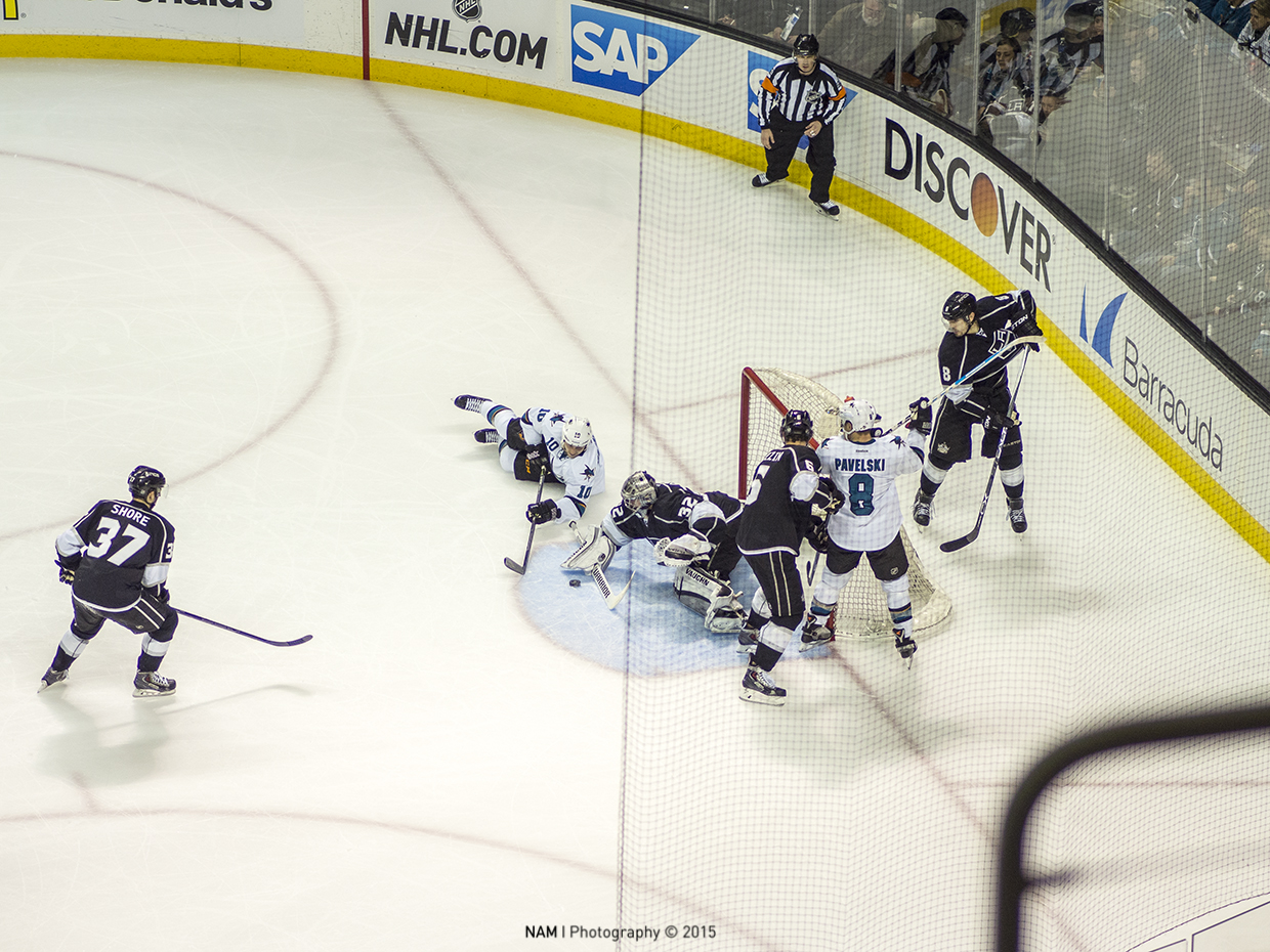 Hockey: Sharks Vs Kings 15723453764_7043c7170a_o