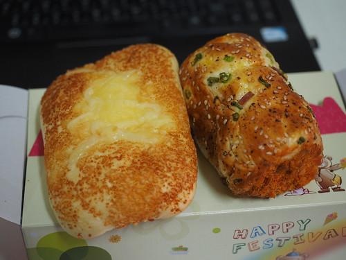 高雄唯王食品-便宜精緻的開會餐盒餐包-起士麵包&肉鬆捲2