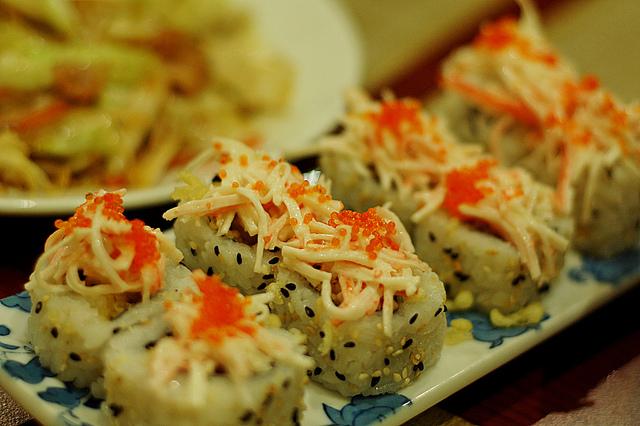 Japanese food - rolls