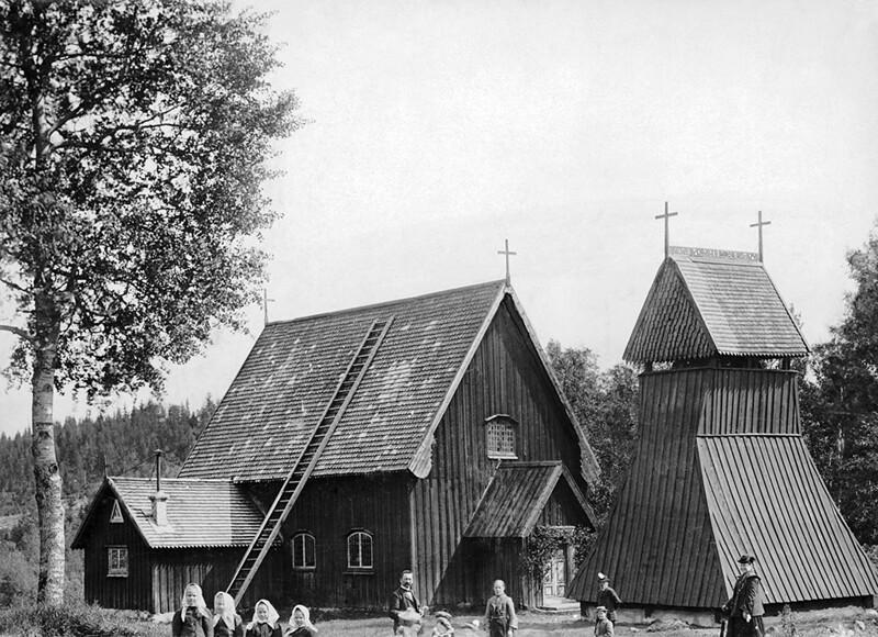 Evertsberg Chapel, Dalarna, Sweden