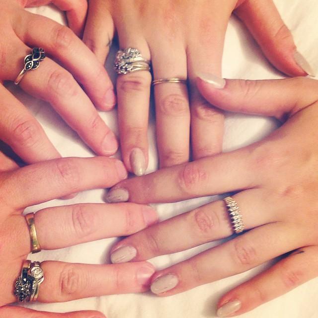 Rings on rings on rings.
