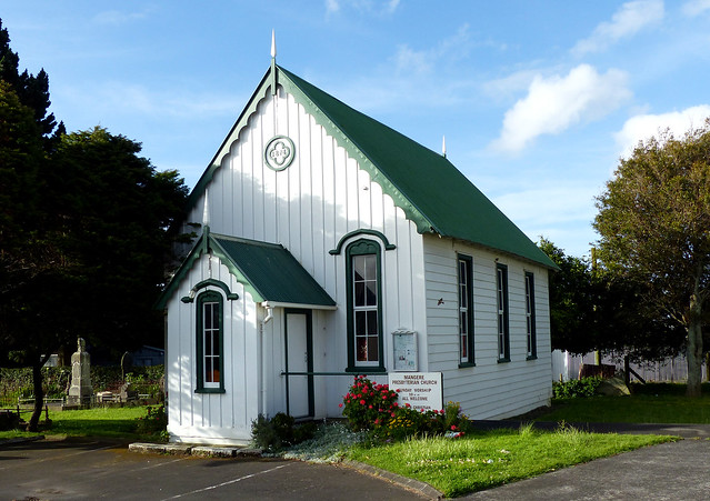 Mangere Presbyterian Church. 1874.