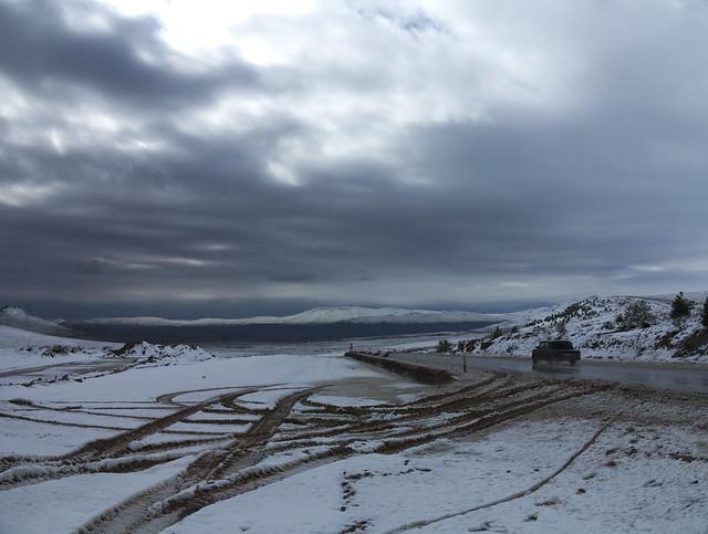 Schnee in Qubostan