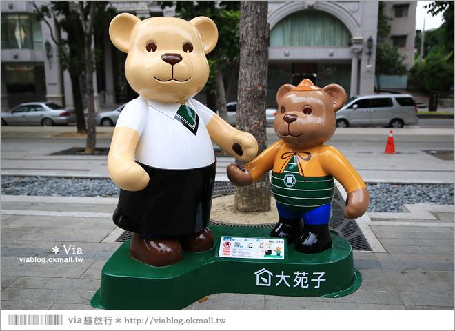【台中泰迪熊草悟道】台中泰迪熊展2014地點(草悟道篇)~熊可愛‧親子熊超卡哇依!20