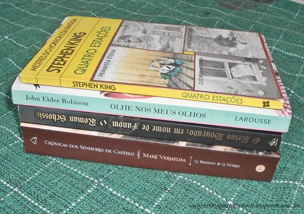 Caixa de correio livros de novembro 2014