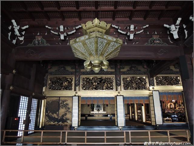西本願寺。阿彌陀堂
