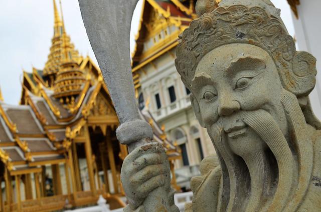 Edificios del Gran Palacio de Bangkok