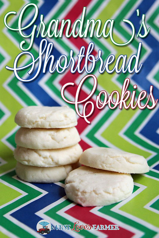 Grandmas Shortbread Cookies