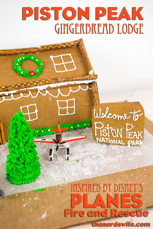 Planes Fire and Rescue Gingerbread House