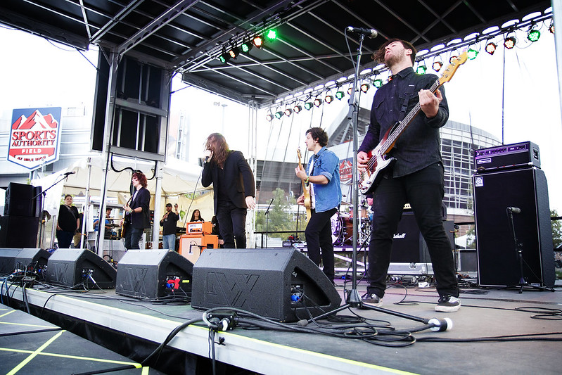 Riot Fest Denver 2014 - The Unlikely Candidates