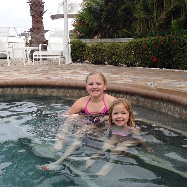 Christmas Eve Eve swimming sesh! #gilbochristmas2014 #cousins #kenleydee