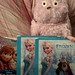 happy Bo with Frozen stickers by ToyAddict ~ Neverland
