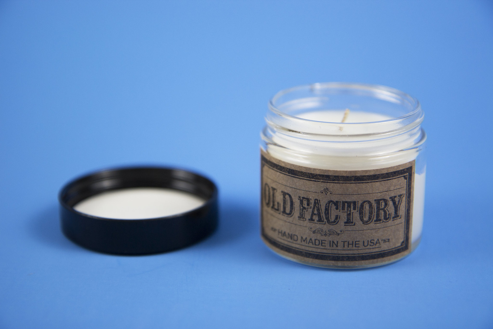 old factory candle
