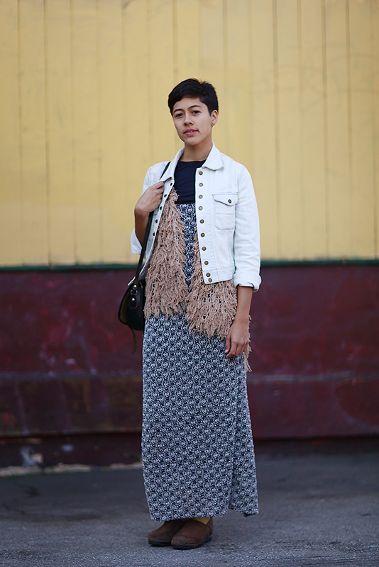 rebecca_fl street style, street fashion, women, San Francisco, South Van Ness Avenue