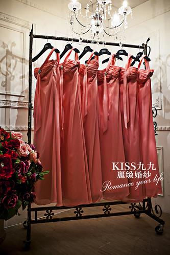 高雄KISS九九麗緻婚紗-推薦婚紗禮服-伴娘1