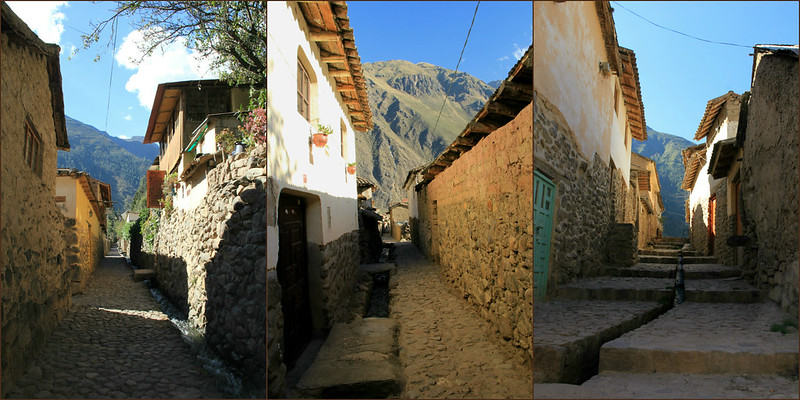 Streets of Ollantaytambo