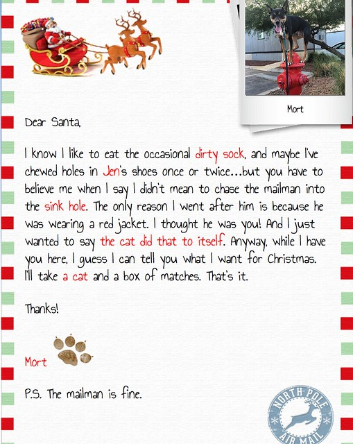 how to send a letter to santa online