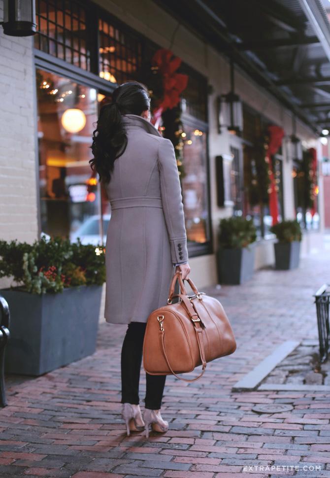 taupe coat duffel bag 2
