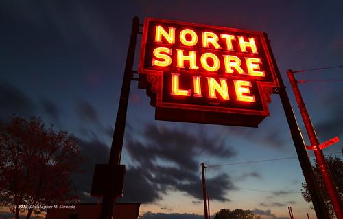 North Shhore Line Sign