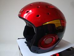 Juniorská celoskořepinová lyžařská helma Salomon E - titulní fotka