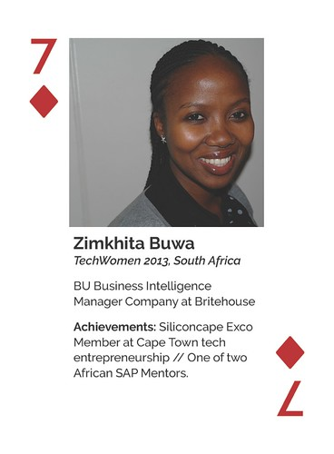 TechWomen Zimkhita Buwa (2013-South Africa)