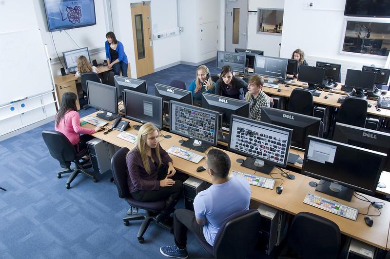Media studios