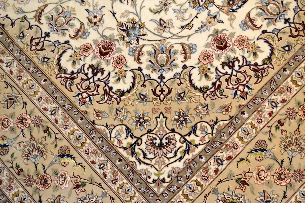 Fine Isfahan Esfahan Persian Area Rug 7x10 (1)