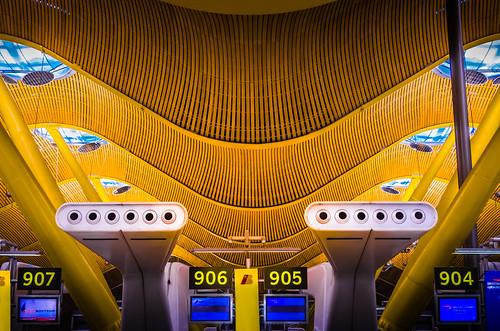 Madrid, Spain - Airport - T4