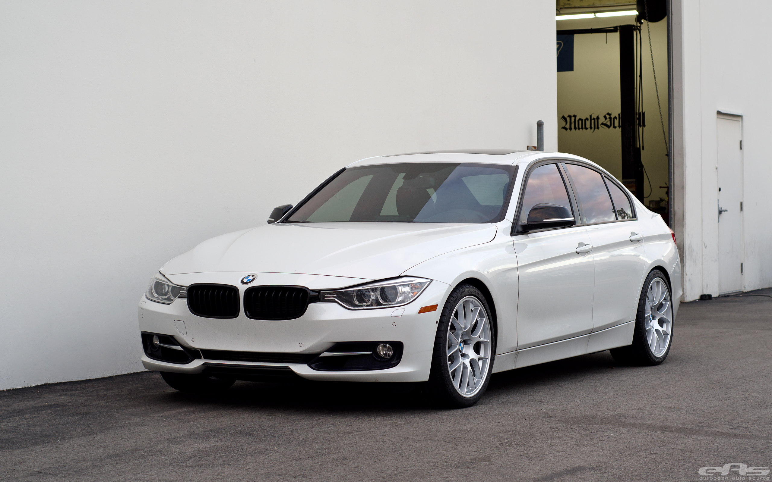 Car Source: APEX EC-7 Wheels Installed On A Mineral White F30