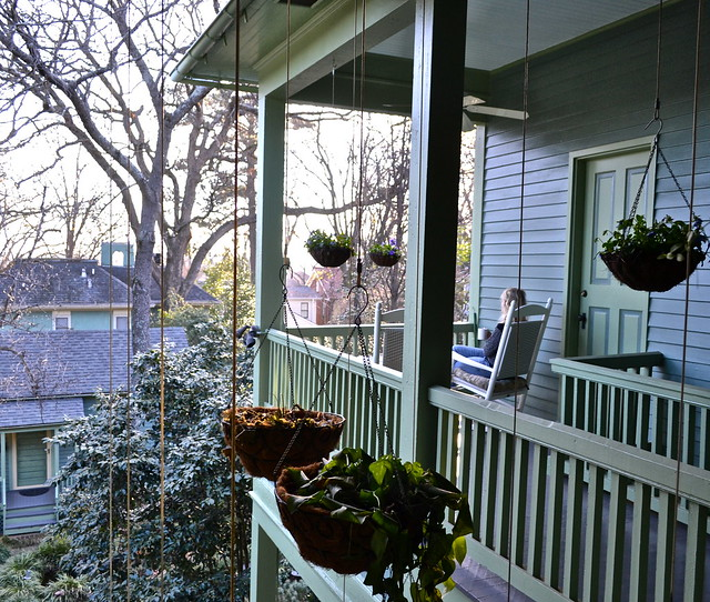 porch - shellmont inn - bed and breakfast atlanta