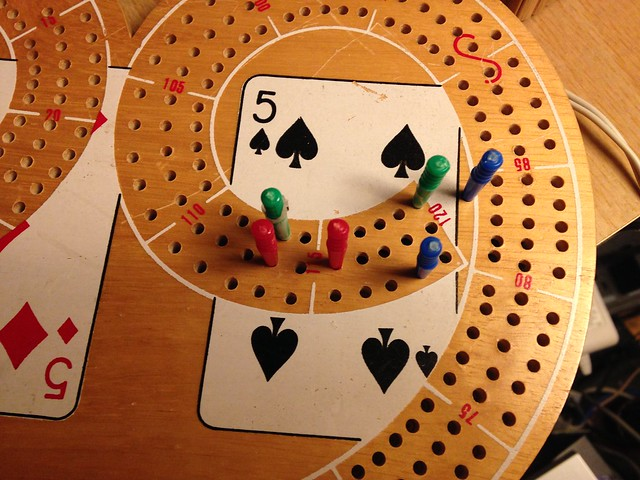 Cribbage sudden death