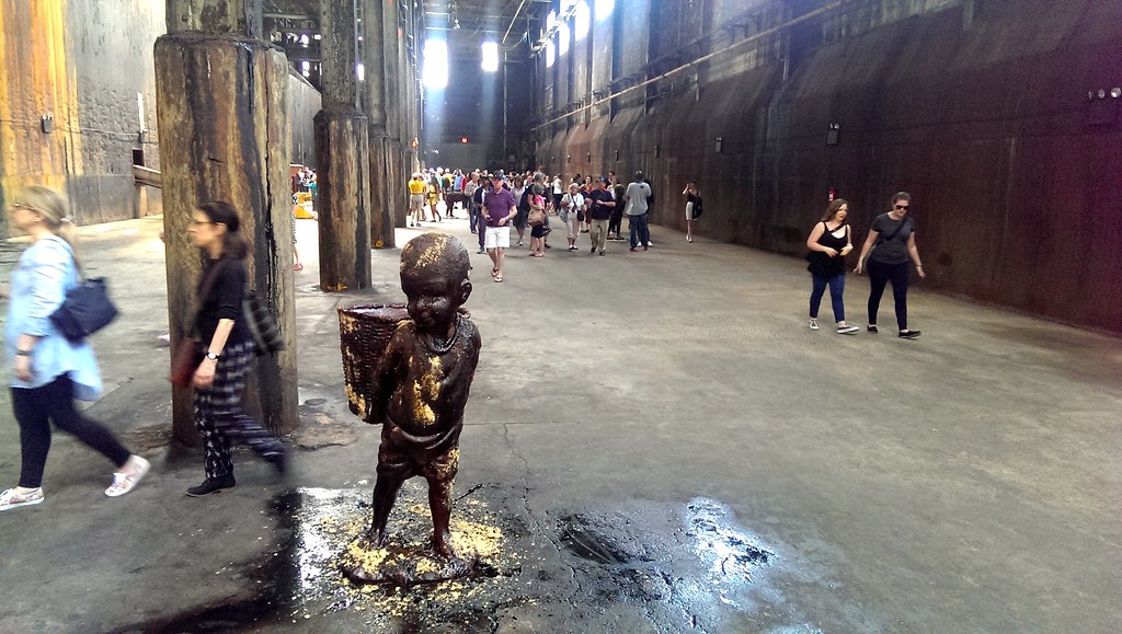 Kara Walker at the Domino Sugar Factory: A Subtlety