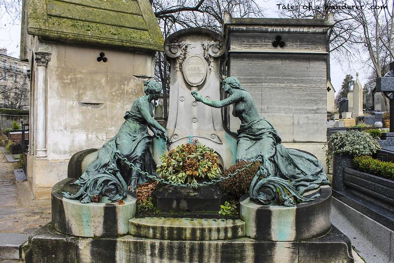 PARIS - Cimetière du Père-Lachaise