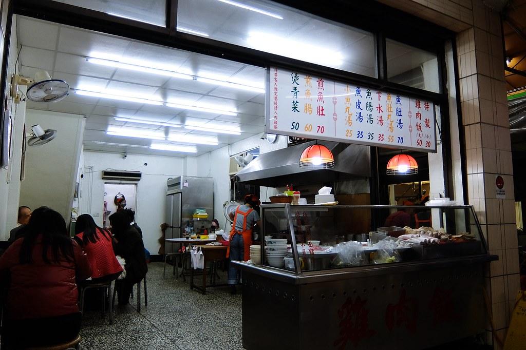 店面不大,賣的食物就跟上頭牌子相同