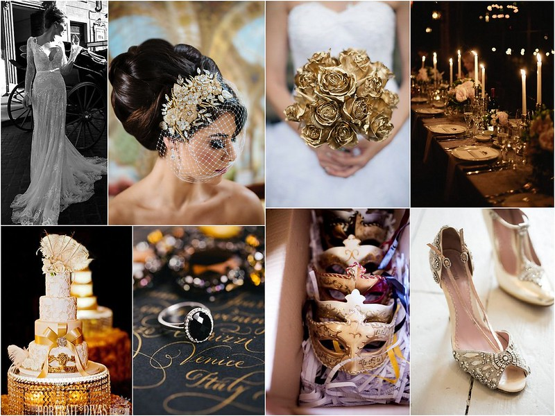 Venetian Carnival Wedding Inspiration