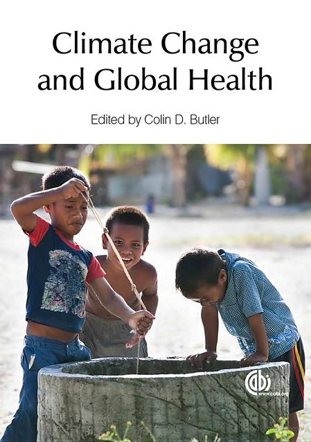 Climate Chang and Global Health book cover