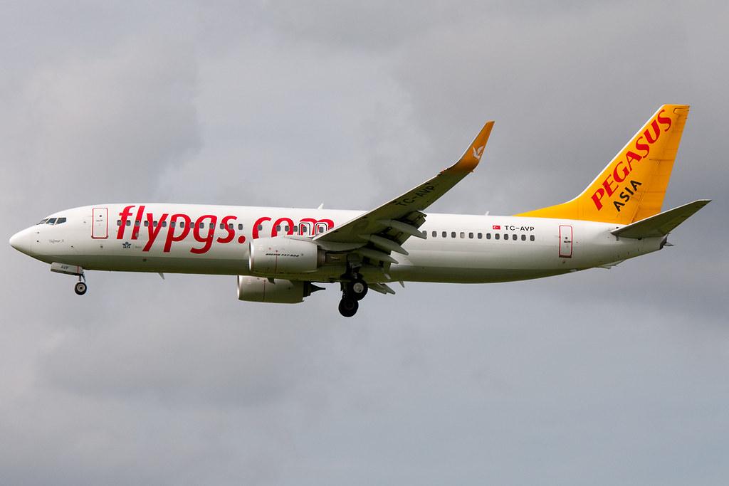 TC-AVP - B738 - Pegasus Airlines