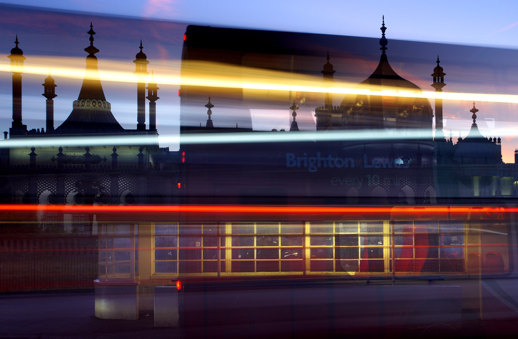 Royal Pavilion Brighton Long Exposure