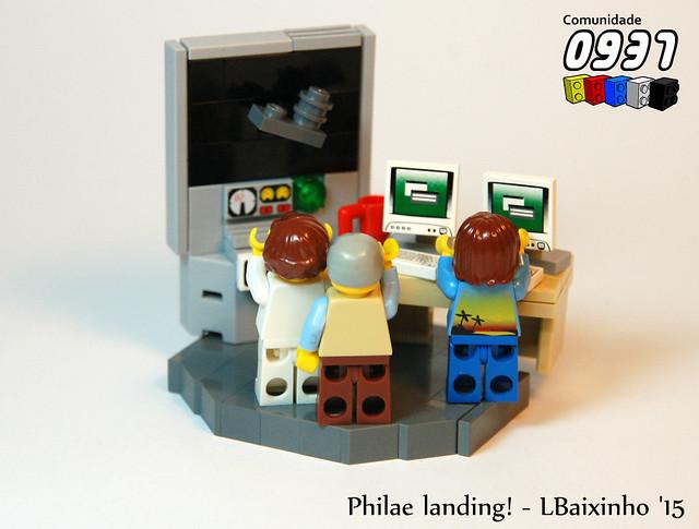 Philae landing!