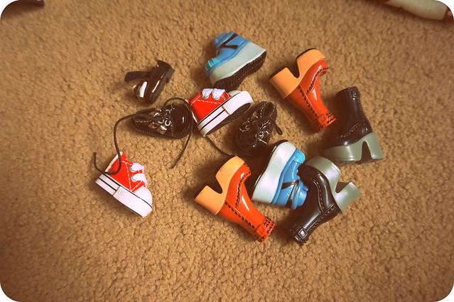 Blythe shoes