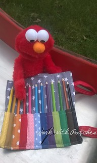 Elmo house for crayons