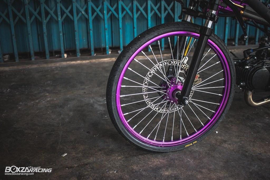 Wave Drag độ màu tím khủng khiếp với Piston 78mm (Thái) - 10