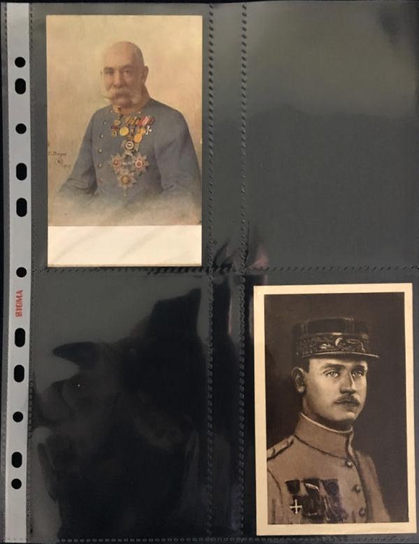 Obal na pohľadnice, bankovky Sigma, 4 kapsy