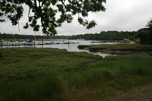 The Beaulieu river near Bucklers Hard