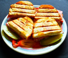 Grilled Madagascar Green Peppercorn Jack Cheese, B…