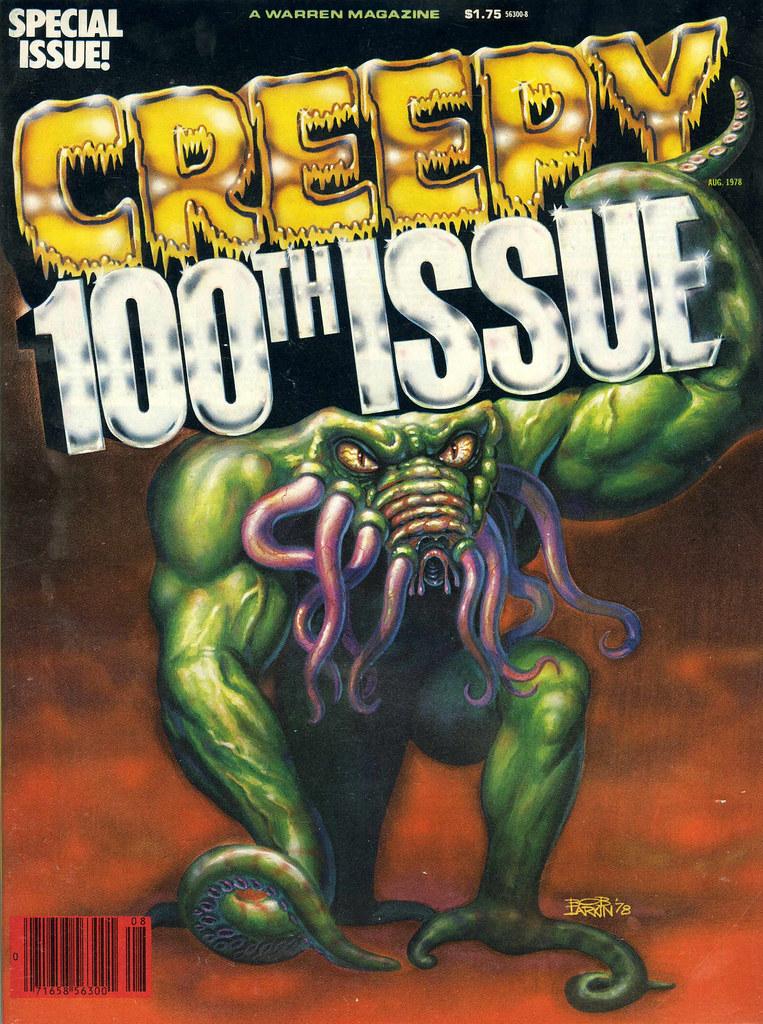 Bob Larkin - Creepy 100 (Warren, 1978)