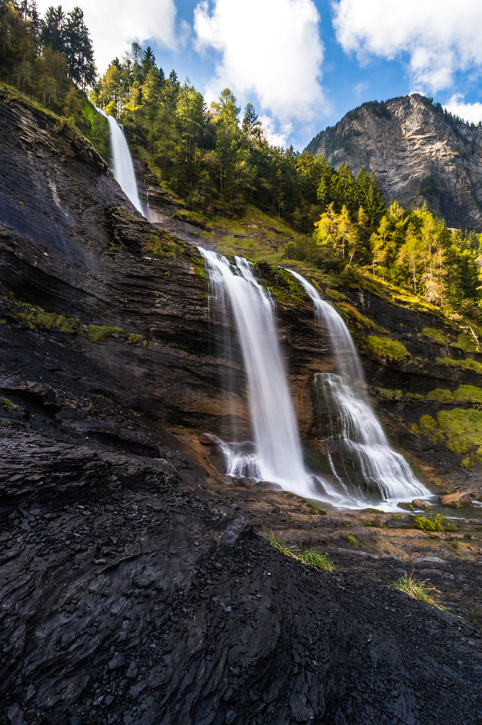 Cascade du Rouget, French Alps
