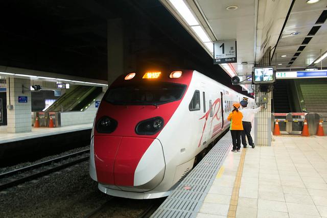 Train Hualien - Taipei